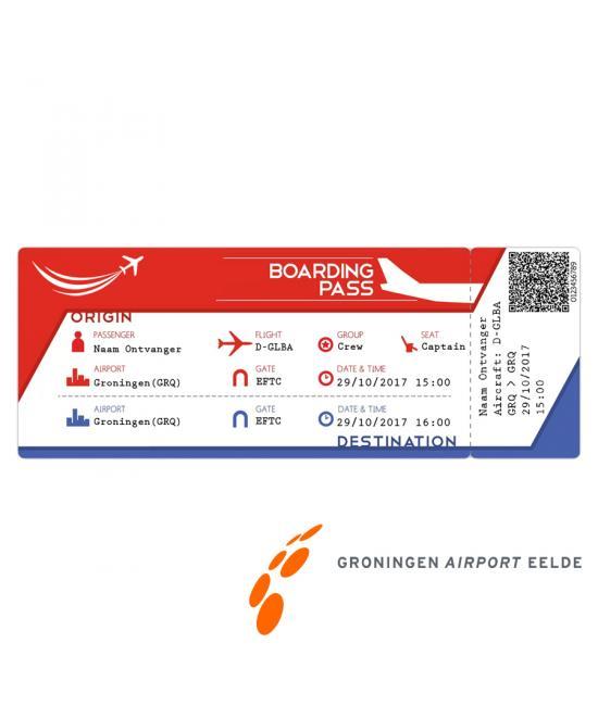 Ticket (kadobon) alleen in combinatie met een proefles | vliegles | rondvlucht